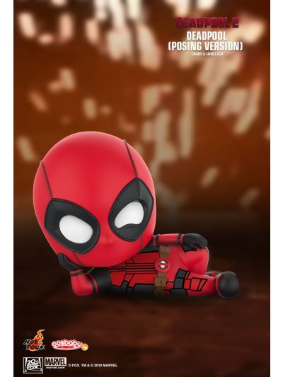 Cosbaby Deadpool (Posing Version) Cosbaby (S) Bobble-Head - COSB509