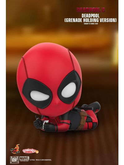 Cosbaby Deadpool (Grenade Holding Version) Cosbaby (S) Bobble-Head - COSB510