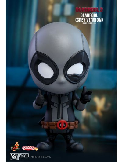 Cosbaby Deadpool (Grey Version) Cosbaby (S) Bobble-Head - COSB512