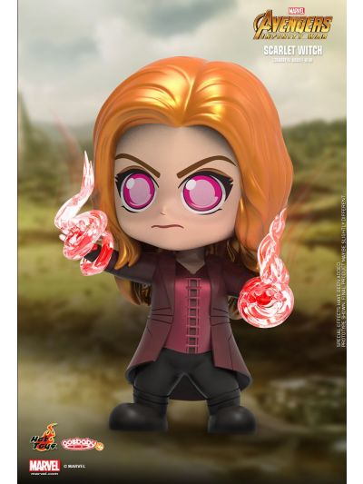 Cosbaby Scarlet Witch Cosbaby (S) Bobble-Head - COSB496