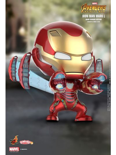 Cosbaby Iron Man Mark L (Nano Cannon Version) Cosbaby (S) Bobble-Head - COSB497