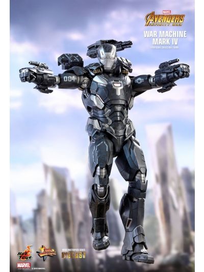 Hot Toys AVENGERS: INFINITY WAR WAR MACHINE MARK IV 1/6TH SCALE COLLECTIBLE FIGURE - MMS499D26