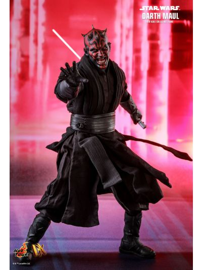 Hot Toys STAR WARS EPISODE I: THE PHANTOM MENACE DARTH MAUL 1/6TH SCALE COLLECTIBLE FIGURE - DX16