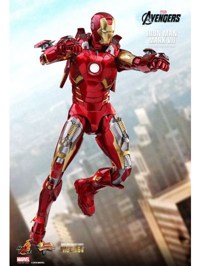 Hot Toys THE AVENGERS IRON MAN MARK VII 1/6TH SCALE COLLECTIBLE FIGURE - MMS500D27