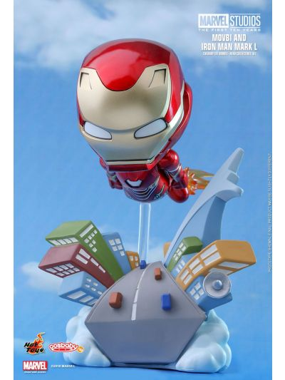 Cosbaby MARVEL STUDIOS: THE FIRST TEN YEARS MOVBI AND IRON MAN MARK L COSBABY (S) BOBBLE-HEAD - COSB506