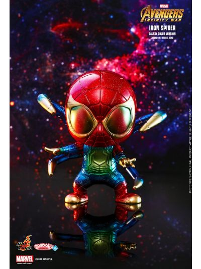Cosbaby AVENGERS: INFINITY WAR IRON SPIDER (GALAXY COLOR VERSION) COSBABY (M) BOBBLE-HEAD - COSB533