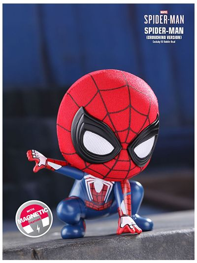 Spider-Man (Crouching Version) Cosbaby (S) Bobble-Head - COSB514