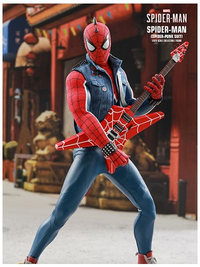 MARVEL'S SPIDER-MAN SPIDER-MAN (SPIDER-PUNK SUIT) 1/6TH SCALE COLLECTIBLE FIGURE - VGM32