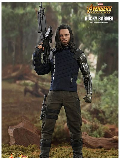 AVENGERS: INFINITY WAR BUCKY BARNES 1/6TH SCALE COLLECTIBLE FIGURE - MMS509