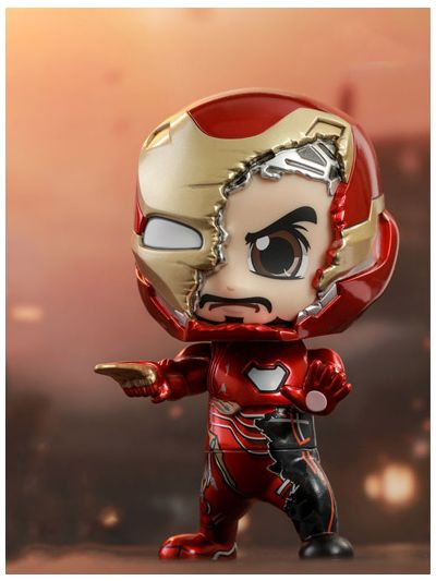 Iron Man Mark L (Battle Damaged Version) Cosbaby (S) Bobble-Head - COSB558