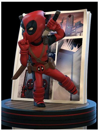 Deadpool 4D Diorama Q-Fig - MVL-0042