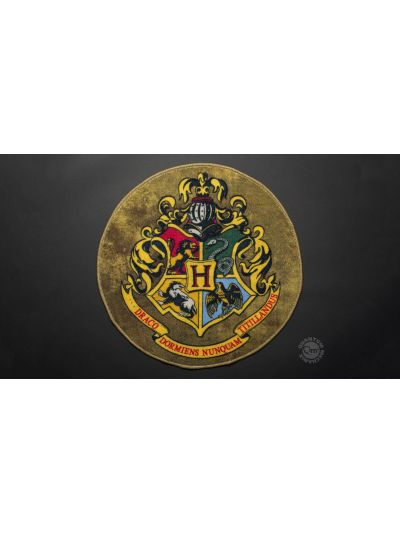 Quantum Mechanix Harry Potter Hogwarts Crest Doormat - HP-0702