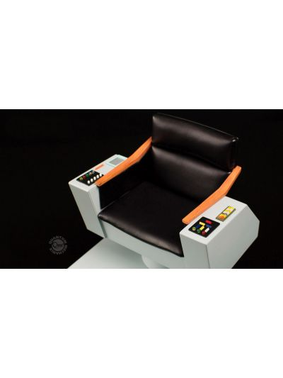 Quantum Mechanix Star Trek TOS 1:6 Scale Captain's Chair FX Replica - SKU QMX3041129
