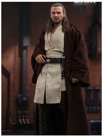 Hot Toys Star Wars: Episode I - The Phantom Menace - 1/6th scale Qui-Gon Jinn Collectible Figure - MMS525