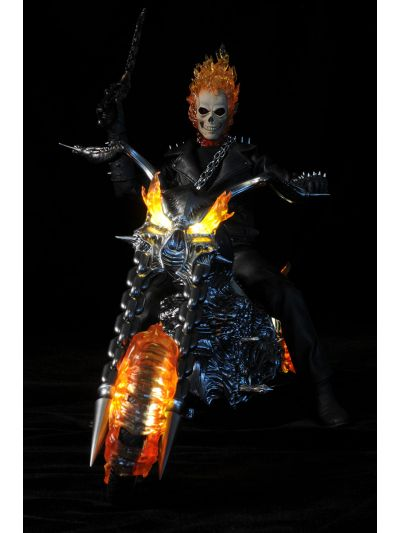 Ghost Rider W/ Hellcycle (BIB CONDITION) - MMS133