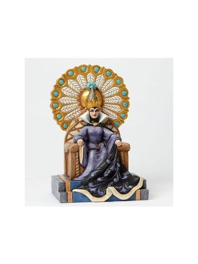 Enesco:DSTRA Evil Queen on throne - 4043649
