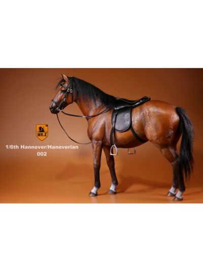 Mr.Z 1/6 Real Animal Series S17 German Hanoverian Horse #002 Light Brown