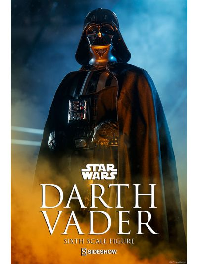 Starwars Darth Vader Sixth Scale Figure - SSCSW1000763