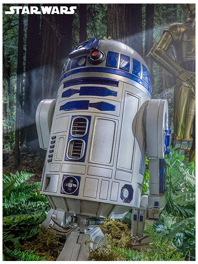 R2-D2 Legendary Scale Statue - 400155