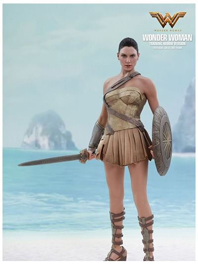 Hot Toys Wonder Woman - Wonder Woman (Training Armor Version) - MMS424