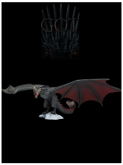 Game of Thrones Drogon Deluxe Figure - 10656-5