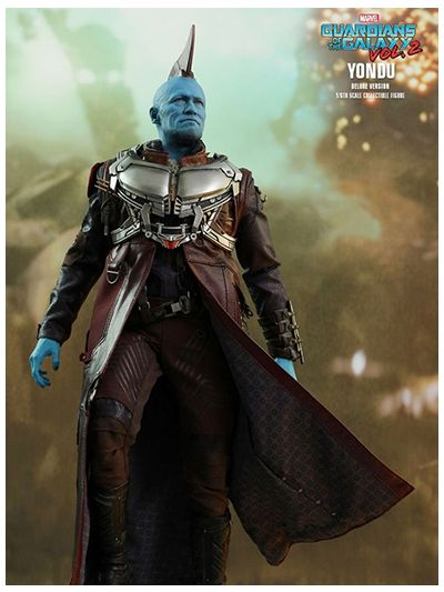 GUARDIANS OF THE GALAXY VOL. 2 : YONDU (DELUXE VERSION) 1/6TH SCALE COLLECTIBLE FIGURE - MMS436