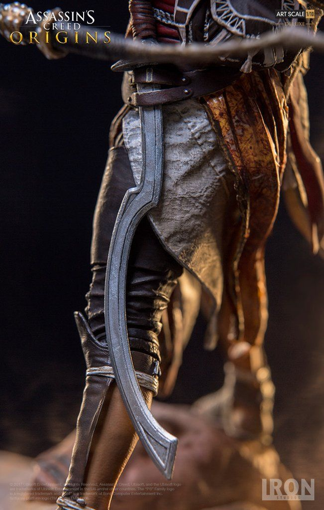 Assassin S Creed Origins Bayek Deluxe Art Scale 1 10 Ubgame07417 10 Anotoys